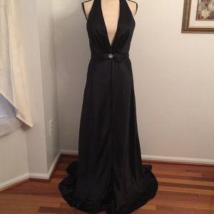 Alyce size 12 gorgeous black formal